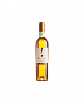 Albana Passita DOCG Bissoni - con botrite nobile affinata in barrique - bottiglia 0,50 lt - Formaggi Fosse Venturi