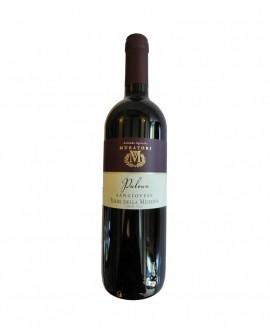 PULOUN azienda agricola Muratori - vino rosso Sangiovese Rubicone IGT - bottiglia 0,75 lt - Formaggi Fosse Venturi