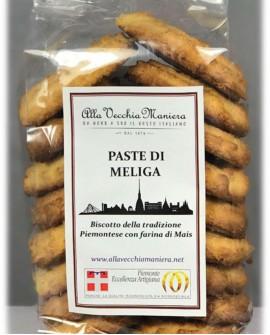 Paste di Meliga con farina di mais - 250g - Pasticceria Alla Vecchia Maniera