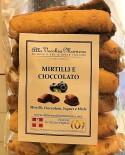 MIRTILLI E CIOCCOLATO - 150g - Pasticceria Alla Vecchia Maniera