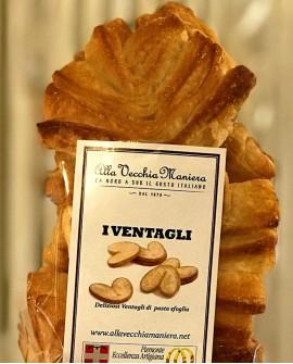 I VENTAGLI di pasta sfoglia - 180g - Pasticceria Alla Vecchia Maniera
