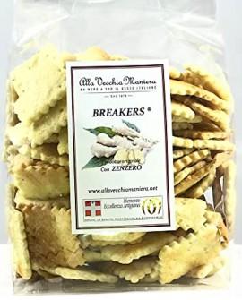BREAKERS® Zenzero - 180g - Pasticceria Alla Vecchia Maniera
