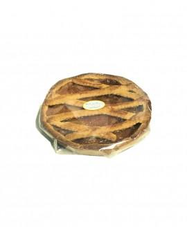 CROSTATA all'Albicocca artigianale con scatola - 400-450g - Pasticceria Alla Vecchia Maniera