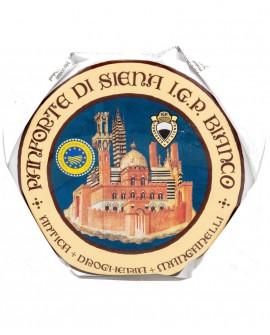 Panforte Bianco di Siena o Margherita IGP Ruota 4,2Kg - Antica Drogheria Manganelli Siena