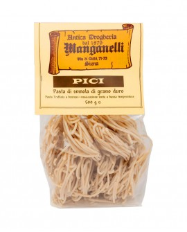 Pici pasta di semola di grano duro trafilata a bronzo 500g - Antica Drogheria Manganelli Siena