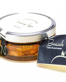 Braciole alla livornese - 280g - 1 porzione - Piatti Pronti - La Toscana in bocca di Nonna Argia