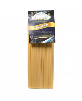 Spaghetti artigianali 500g - pasta di semola di grano duro italiano trafilata al bronzo - Pastificio il Mulino di Puglia