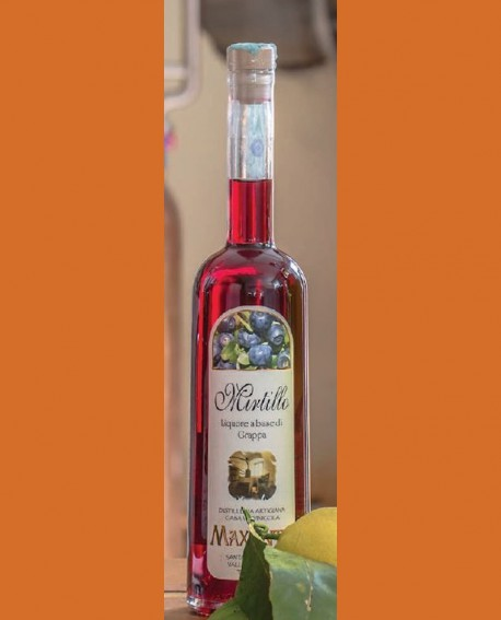 Liquore alla frutta Mirtillo 700 ml - Maxentia