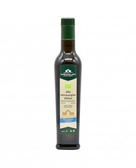 Olio extravergine d'oliva biologico - monocultivar Coratina - bottiglia 0,50 Lt - Olio di Puglia Amendolara Bio