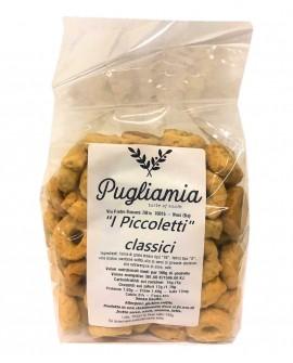 Taralli Classici artigianali, I Piccoletti - busta 300g - Forno Pugliamia