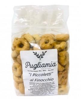 Taralli al Finocchio artigianali, I Piccoletti - busta 300g - Forno Pugliamia