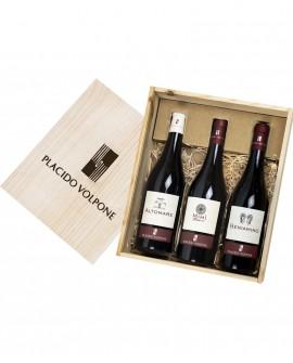 Box regalo in legno Vini Saggi - Cantina Vini Placido Volpone