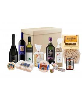 Scatola regalo Sapori della Tradizione - n.13 specialità gastronomiche - Gustox Confezioni
