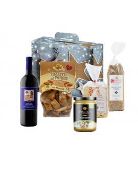 Scatola regalo Sapori della Tradizione - n.5 specialità gastronomiche - Gustox Confezioni