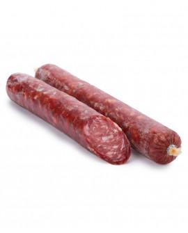 Sfizietto Dolce - salsiccia intera sottovuoto 500g - Salumificio De Luca