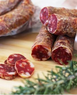 Salsiccia dolce - 350g sottovuoto - stagionatura 30 giorni - Salumi Cembalo