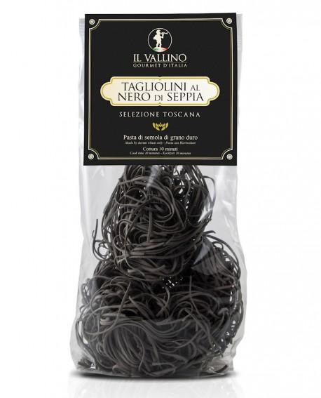 Tagliolini al Nero di Seppia pasta di semola 500 g - Il Vallino
