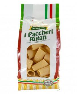 Paccheri Rigati pasta artigianale di semola di grano duro - 500g - essiccata a bassa temperatura - Pastificio Gioia
