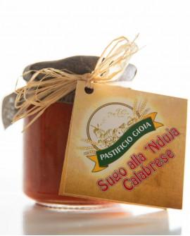 Sugo alla 'Nduja Calabrese - vasetto in vetro di 330ml - Pastificio Gioia