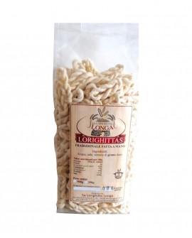 Lorighittas Tradizionali di semola di grano duro fatta a mano - busta 1 kg - Pastificio SA LORIGHITTA LONGA