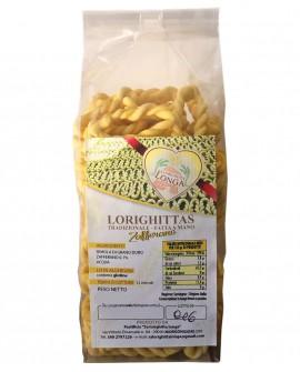 Lorighittas allo Zafferano di semola di grano duro fatta a mano - sfuso in busta 2,5 kg - Pastificio SA LORIGHITTA LONGA