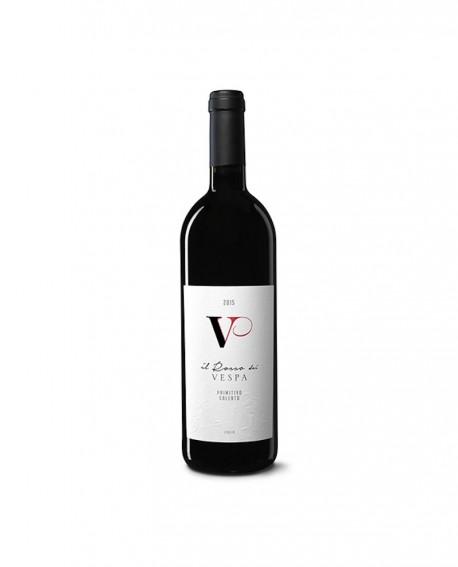 Il Rosso dei Vespa Primitivo di Manduria DOC  - bottiglia 0,75 Lt. - Cantina Vespa, vignaioli per passione
