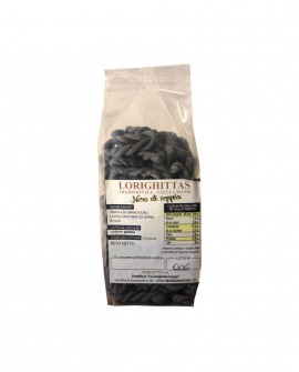 Lorighittas al Nero di Seppia di semola di grano duro fatta a mano - busta 500g - Pastificio SA LORIGHITTA LONGA