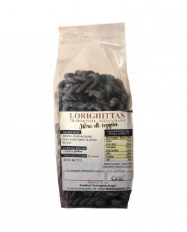 Lorighittas al Nero di Seppia di semola di grano duro fatta a mano - busta 1 kg - Pastificio SA LORIGHITTA LONGA