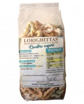 Lorighittas ai Quattro Sapori di semola di grano duro fatta a mano - sfuso in busta 2,5 kg - Pastificio SA LORIGHITTA LONGA