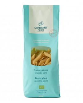 Penne Cipriani di semola di grano duro biologica - 500g - lavorazione artigianale - Cipriani Food