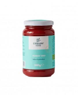Pomd'oro salsa di pomodoro - sugo biologico - 340g vaso in vetro - Cipriani Food