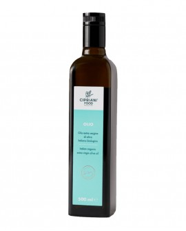 Olio EVO Cipriani - olio extra vergine 100% italiano biologico - 500ml bottiglia in vetro - Cipriani Food