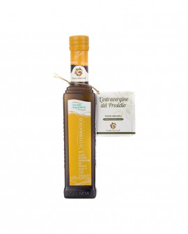 Monocultivar Olio L'Ottobratico extra vergine d'oliva - Presidio Slow Food - bottiglia 250 ml - Olearia San Giorgio