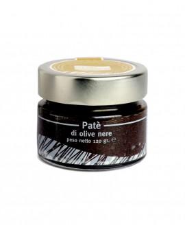 Patè Olive Nere - vaso in vetro 120g - Olearia San Giorgio