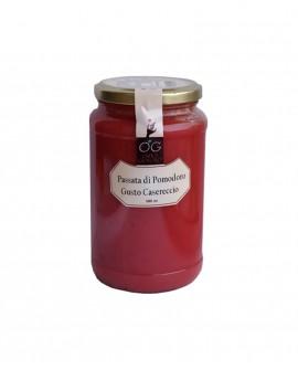 Passata di Pomodoro gusto casareccio - vaso in vetro 580 ml - Orto Goloso