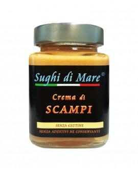 Crema di Scampi - vaso vetro 200g - scadenza 12 mesi - Salumi di Mare