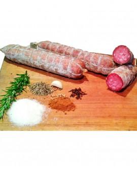 Filzettone del contadino artigianale, sottovuoto intero 1,3 kg - stagionatura 30gg - Salumificio Nadia