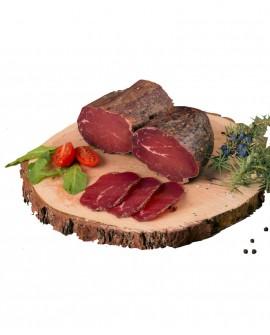 Carne di Manzo Affumicata artigianale - trancio 300g - stagionatura 3 mesi - Salumificio Plauser Speck Ladele