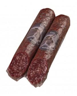 Salame con Asino artigianale - 250g - stagionatura 2 mesi - Salumificio Plauser Speck Ladele