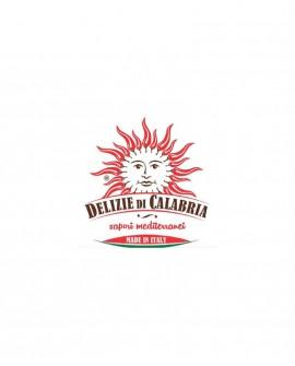 Peperoncini ripieni con formaggio pecorino calabrese in olio d'oliva - 220 g - Delizie di Calabria