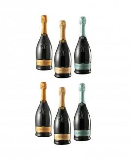 Confezione Degustazione - n.6 bottiglie 0,75 l - La Montina Franciacorta
