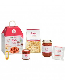 Fileja calabrese con sugo alla Cipolla rossa e 'Nduja - chef Sonia Peronaci - 2 porzioni - My Cooking Box