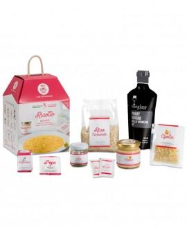 Risotto alla Milanese con pistilli di zafferano - chef Emanuele Poli - 3 porzioni - My Cooking Box