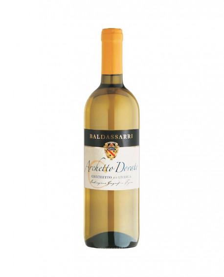 Archetto Dorato Vino Grechetto IGT Umbria - Bottiglia da 0,75 Lt - Cantina Baldassarri