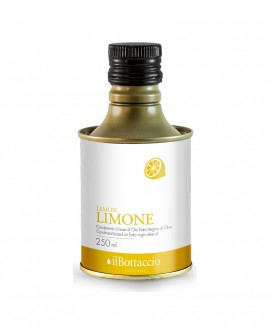 Olio Extravergine d'Oliva Italiano INFUSO al Limone - 250ml - Olio il Bottaccio