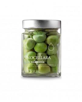 Olive verdi Nocellara in salamoia - 280g - Olio il Bottaccio
