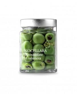 Olive verdi Nocellara denocciolate in salamoia - 280g - Olio il Bottaccio
