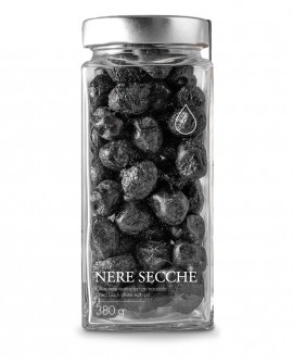 Olive nere secche - 380g - Olio il Bottaccio
