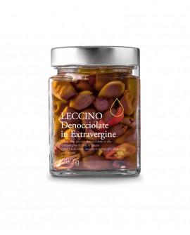 Olive nere Leccino denocciolate in olio extra vergine - 280g - Olio il Bottaccio