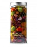 Mix di Olive in olio extra vergine - 550g - Olio il Bottaccio